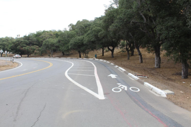 26th St. Uphill Bicycle Lane, San Diego CA