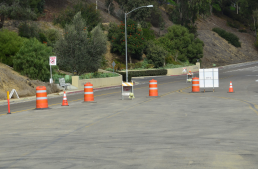 Gilman Dr, La Jolla - during sewer line replacement, 2018