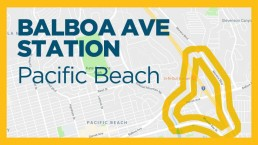 Balboa Station Plan area (map outlined in yellow)