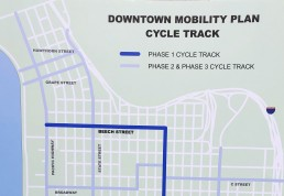 Map of the 2018 Downtown Mobility Plan