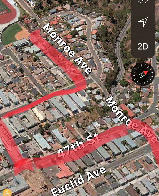 47th Street detour suggested by Howard Blackson