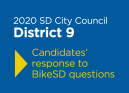 2020 SD City Council District 9 Candidate Responses