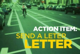 Action Item: Send a Letter